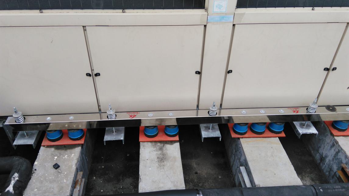 气液悬浮复合隔声减震组件